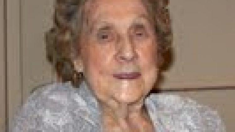 """Elizabeth """"Betty"""" Meyer 12/03/2012"""