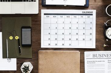 Grief Calendar July – December 2018