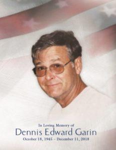 Dennis Garin 12/11/2018 - Bakken Young Funeral Home
