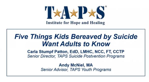 TAPS Info